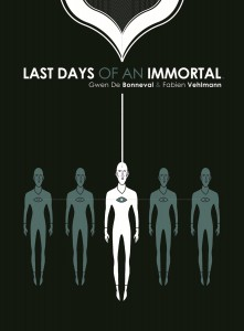 Last Days of an Immortal GN Cover